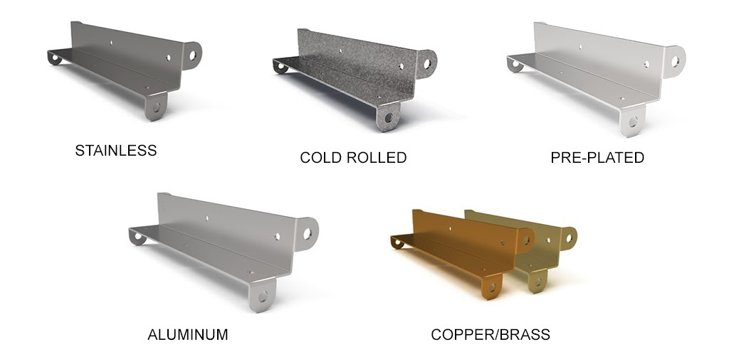 collage of different sheet metals